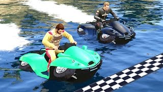 WEIRDEST FINISH LINE EVER!? (GTA 5 Funny Moments)