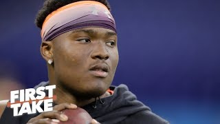 2019 NFL Draft: Can the Giants afford to pass on Dwayne Haskins?   First Take