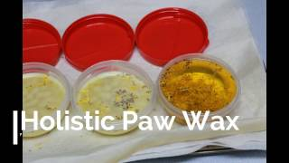 Dog Paw Protector DIY Paw Wax