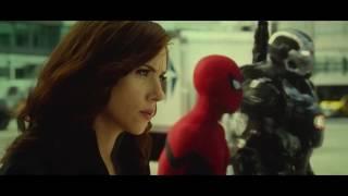 Captain America Civil War airport battle clip