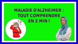 LA MALADIE D'ALZHEIMER: définition, symptômes, facteurs de risque, diagnostique  / Noura Marashi