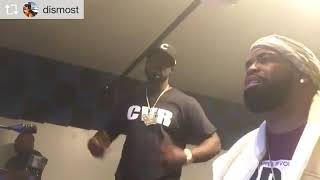 Young Buck x DJ Battlecat in studio for #UnExpected THE ALBUM😎...🤫 @50cent @drdre @jerryblong