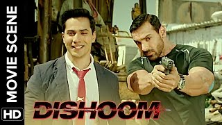 Teri Aukaat Tere Kaam Ke Beech Bar Bar Aa Jati Hai | Dishoom | Movie Scene