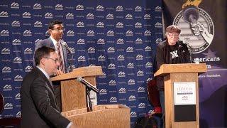Dinesh D'Souza Bill Ayers Debate at the University of Michigan