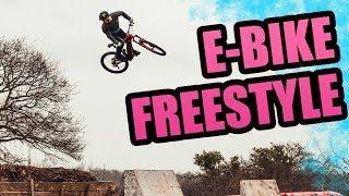 EBIKE FREESTYLE - Big jump Big tricks