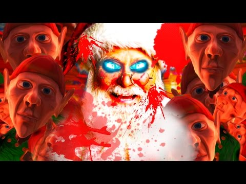 THE TRUTH ABOUT SANTA! | Viscera Cleanup Detail: Santa's Rampage