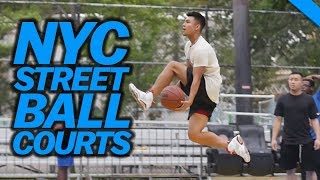 BEST BASKETBALL COURTS IN NYC ft. DIKEMBE MUTOMBO