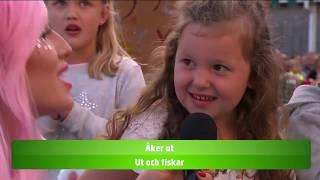 Allsång Dolly style - Gå och fiska - Lotta på Liseberg (TV4)