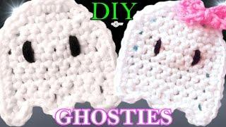 Crochet Ghost Applique Pattern