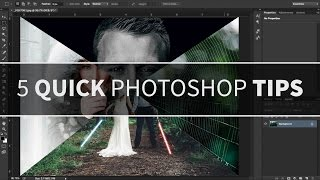 5 Quick Photoshop Tips - PHOTOSHOP TUTORIAL