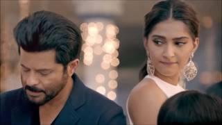 Anil kapoor and Sonam Kapoor Advertisement