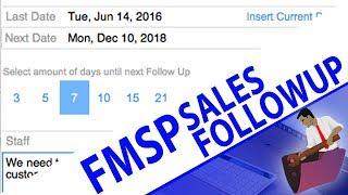 FMSP Sales Followup System | FileMaker Pro Video Training | FileMaker Training Videos