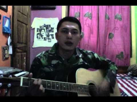 tentara nyanyi  . pelita hati - anto cepi ( top priv warant officarete of indonesian air force )