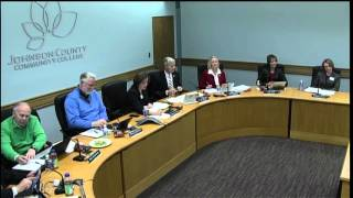 JCCC Board of Trustees Meeting for December 17, 2015