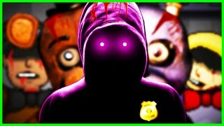 FNAF PURPLE MAN SHOWS HIS FACE! - 🌟SUPER Five Nights at Freddy's (Gameplay Funny Moments)🌟