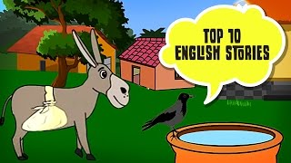 Top 10 English Story | Panchatantra Tales in English | Moral Stories For Kids In English