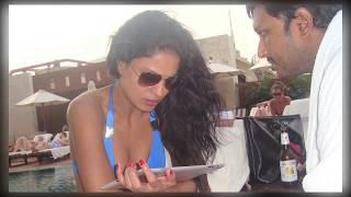 Veena Malik & Asmith Patel kissing Scene   Hot Video   must Watch