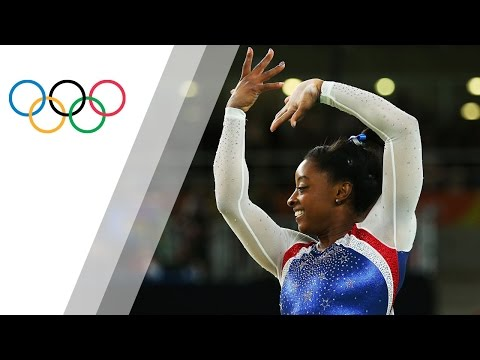 Biles shines for Artistic Gymnastics Individual All Around gold