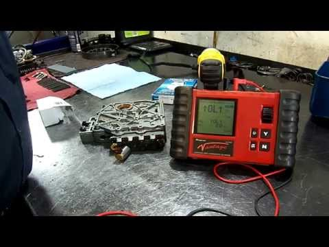 VW - 01M Transmission - Solenoid Valve 4 (N91) Open Circuit - Valve Body Repair