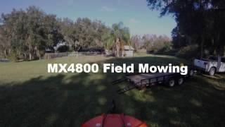MX4800 Field Mowing DeLand Fl