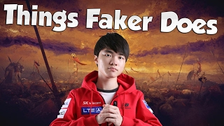 THINGS FAKER DOES! - That's the Faker I love to watch 2
