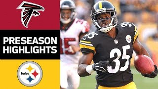 Falcons vs. Steelers | NFL Preseason Week 2 Game Highlights