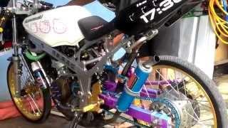 Knalpot Ninja TAGA Muffler Kidal Racing Speed Amateur