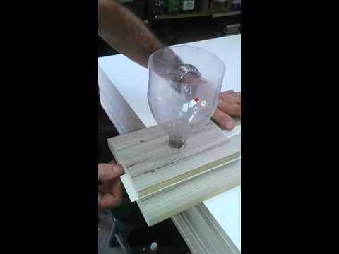 Coladeira de borda artesanal