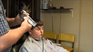Barber Shop Hair Cut !! Boy's Easy Cut !!