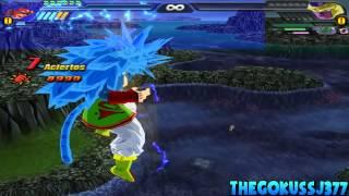 Goku SSJ,SSJ2,SSJ3,SSJ4,SSJ5 And SSJ6,SSJ7! Budokai Tenkaichi 3 Mod!~TheGokussj377【HD】