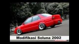 Modifikasi Mobil Soluna Tahun 2002