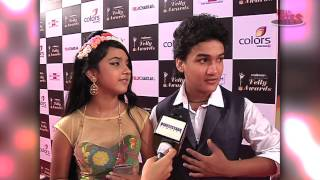 Faisal and Roshni at Indian Telly Awards 2014
