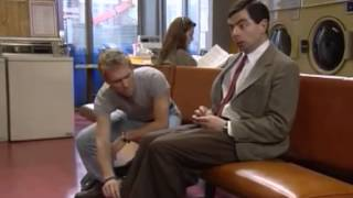 Mr. Bean - coin laundry