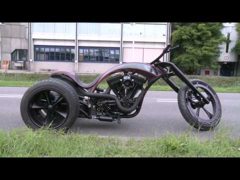S & S Trike and Red Bull Dragster by Bozzies