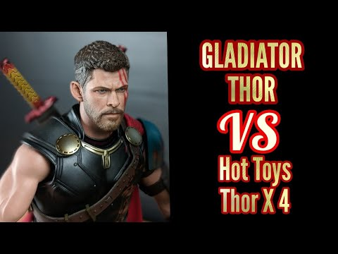 Xxx Mp4 Hot Toys Gladiator Thor Comparison Thor Vs Lots Of Thor 3gp Sex