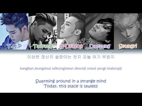 Bigbang Bang Bang Bang 뱅뱅뱅 Color Coded Han Rom Eng Lyrics