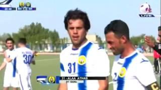 هدف عالمي من الدوري العراقي الممتاز لاتشاهده الا في اوربا من مباراة البحري والشرطة من علاء عذاب