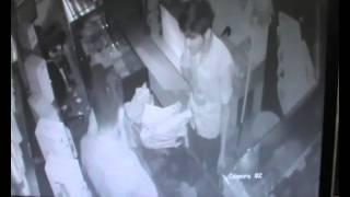 theft caught on camera in  gubbi tumkur