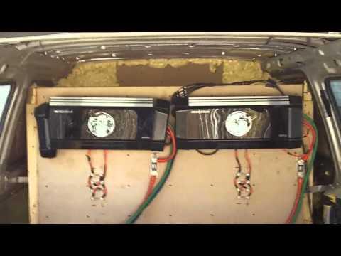 EXO's SOUND SYSTEM - Soundstream XXX / Tarantula Amps / BX-15 / DC 270XP / Volt Meters / BIG THREE