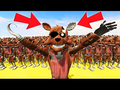 PHANTOM FOXY ARMY IN GTA 5! (GTA 5 Mods For Kids FNAF Funny Moments)