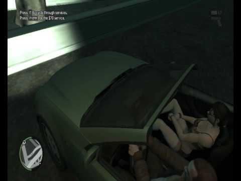 Niko Bellic transa no carro GTA IV