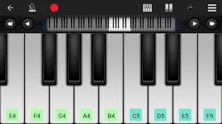 پیانوی کویلا در موبایل.Koyla