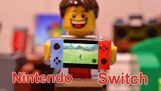 LEGO Nintendo Switch Stop-Motion Animation