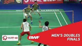 F | MD | GIDEON/SUKAMULJO (INA) [1] vs KAMURA/SONODA (JPN) [4] | BWF 2018