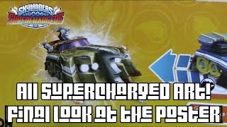 Skylanders Superchargers Poster: All Supercharged Art (Part 2) (HD)