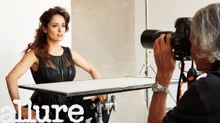 Salma Hayek's August 2015 Allure Cover Shoot