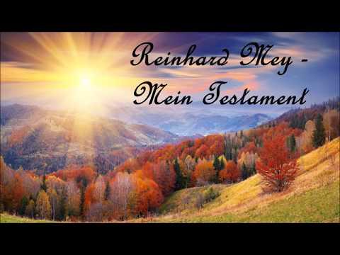 Reinhard Mey Mein Testament mit Text Lyrics