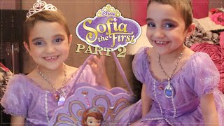 Sofia The First Inspired Makeup Tutorial (Disney Princess) Halloween edition part 2