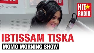 Ibtissam Tiskat dans le Morning de Momo sur HIT RADIO - 16/01/15