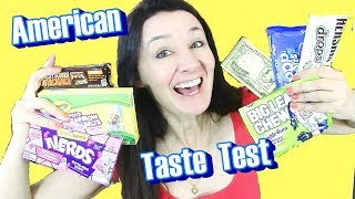 AMERICAN TASTE TEST Big League Chew and more amazing Candy